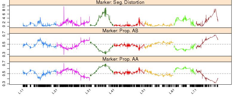 使用ASMap构建高密度遗传图谱