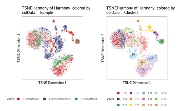 t-SNE of Harmony